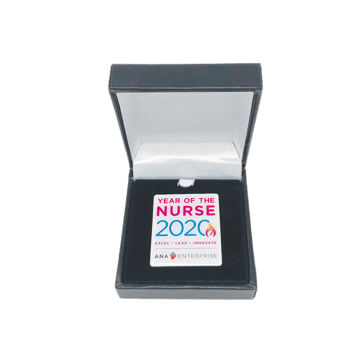 Year of the Nurse Commemorative Lapel Pin with Box