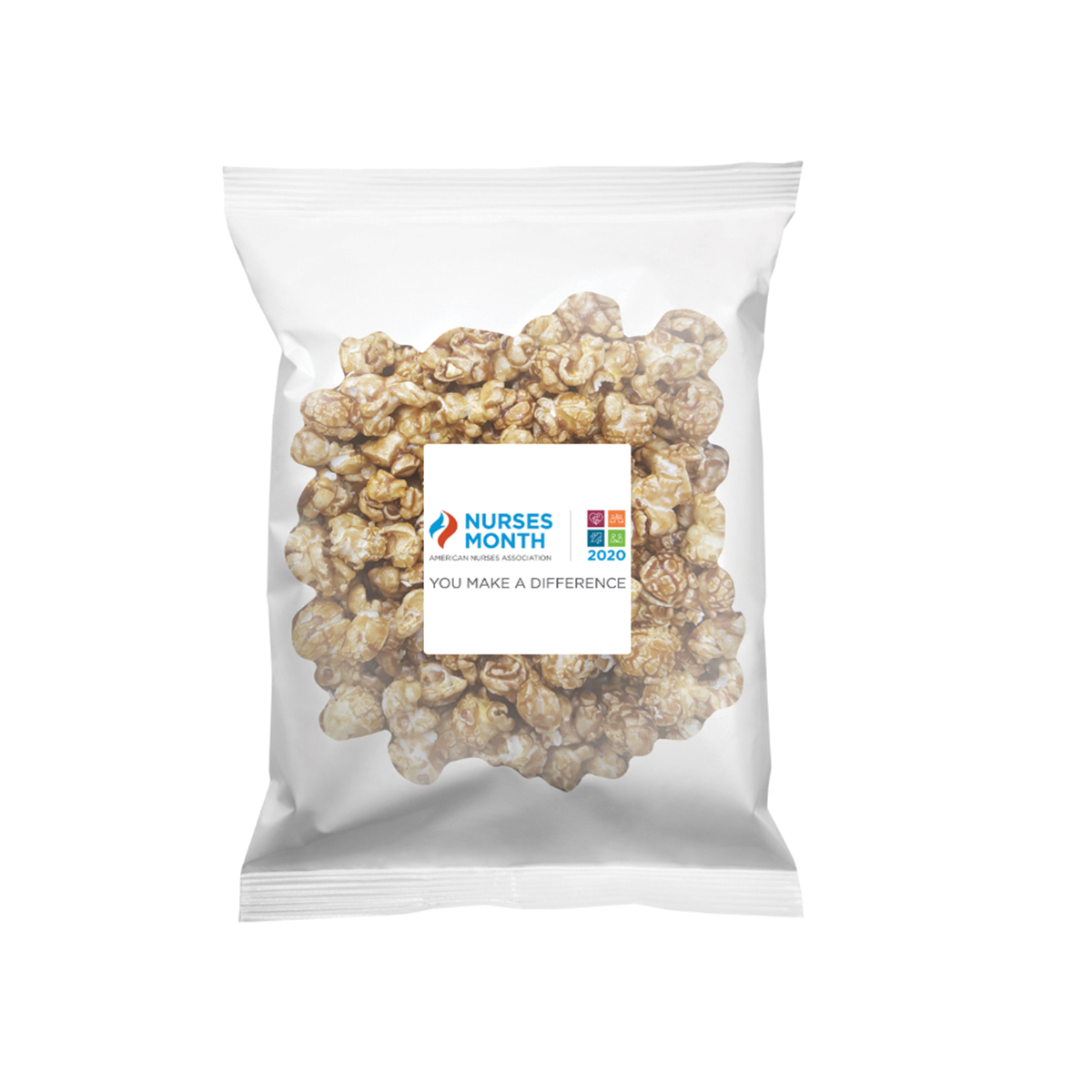 Nurses Month Kettle Corn Snack Bag