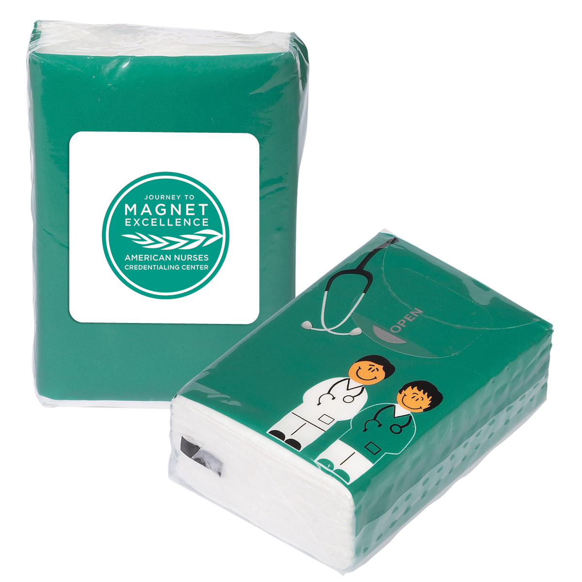 Journey to Magnet Tissue Packet
