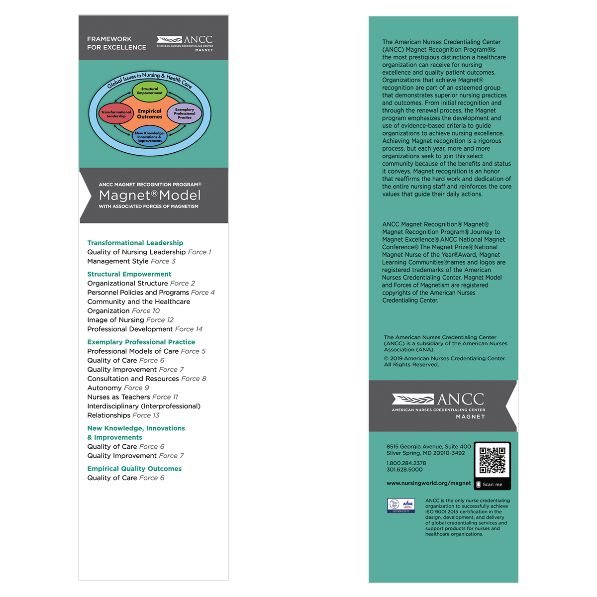 Magnet Framework for Excellence Bookmarks (Sold in Packs of 50)