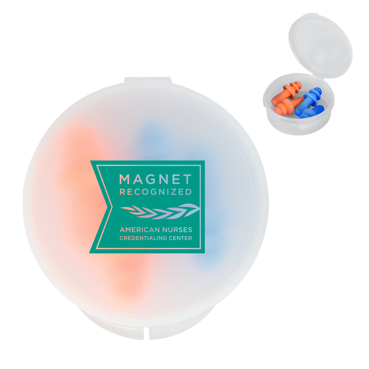 Magnet Recognized Ear Plugs (2 sets of 2)