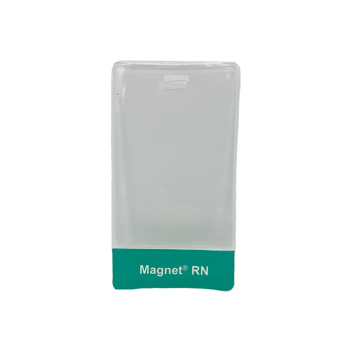 Clear vertical badge holders - 1 set of 25