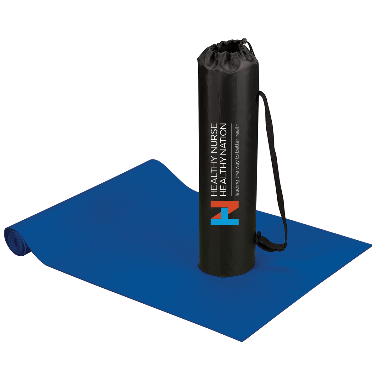 Healthy Nurse Healthy Nation Fitness and Yoga Mat