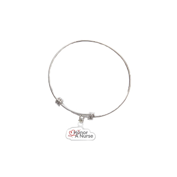 Adjustable Bracelet with Charm
