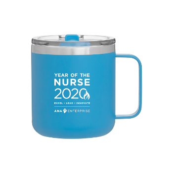 Year of the Nurse 12oz Thermal Mug with Spill Resistant Lid