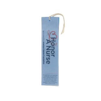 Honor A Nurse Seed Paper & Vellus Bookmark