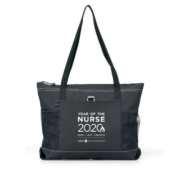 Year of the Nurse Zippered Tote