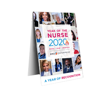 Year of the Nurse Table Tents (Pack of 25)