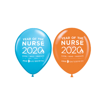 "Year of the Nurse 11"" Latex Balloons (Pack of 20)"
