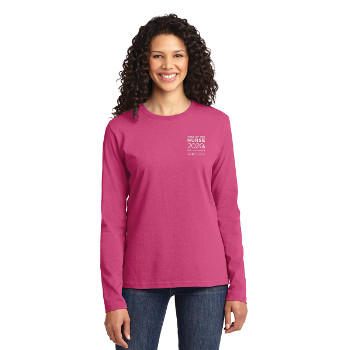 Year of the Nurse Ladies' Long Sleeve Tee