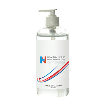 16oz. Pump Sanitizer Bottle