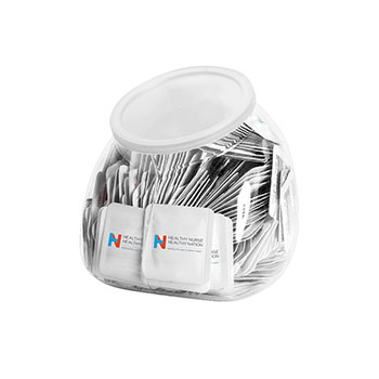 Single Use Sanitizer Tub (Includes 250  Packets)