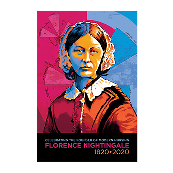 Collectible Florence Nightingale 200th Poster