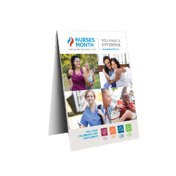 Nurses Month Table Tents (Pack of 25)