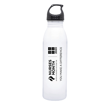 24oz H2Go Stainless Steel Waterbottle