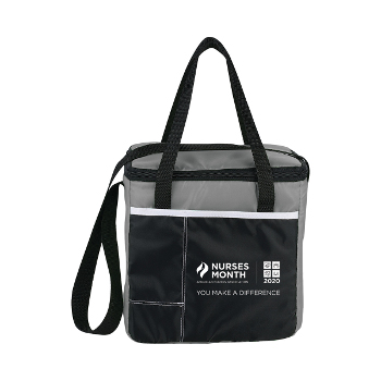Nurses Month Color Block 9-Can Cooler Tote