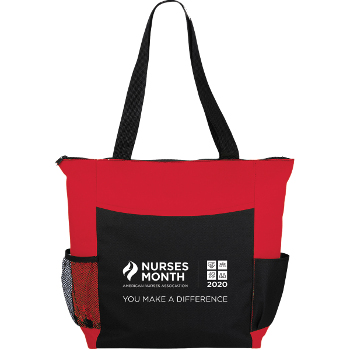 Nurses Month Grandview Zippered Convention Tote