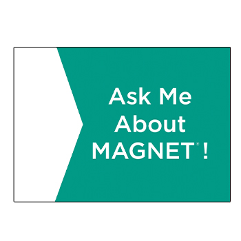 Ask Me About MAGNET Button