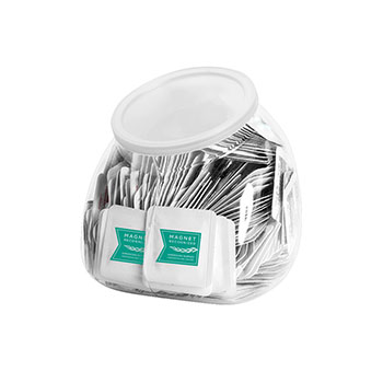 Magnet Recognized Single Use Sanitizer Tub (Includes 250  Packets)