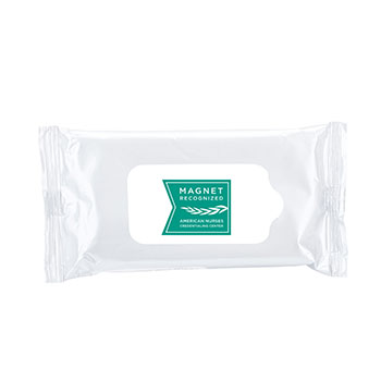 Magnet Recognized Antibacterial Wet Wipes - 10 Pack