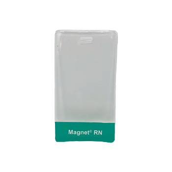 Magnet Clear vertical badge holders - 1 set of 25
