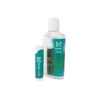 Magnet Conference Lip balm and hand sanitizer set
