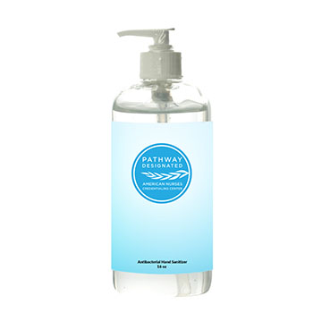 Pathway Designated 16oz. Pump Sanitizer Bottle