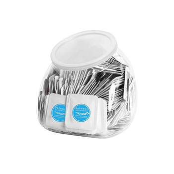 Pathway Designated Single Use Sanitizer Tub (Includes 250  Packets)