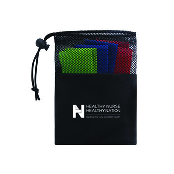 Healthy Nurse Healthy Nation Exercise Resistance Bands Set