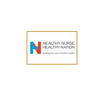 Healthy Nurse Healthy Nation Lapel Pin